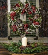 Artificial Christmas Wreaths