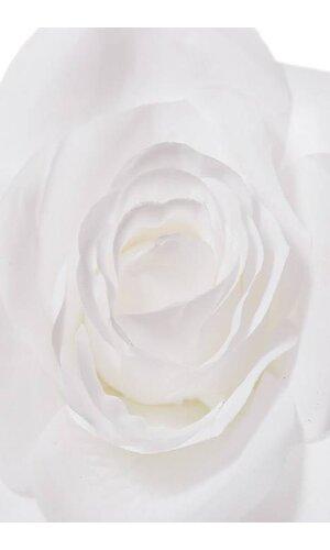 """20"""" OPEN ROSE STEM WHITE"""
