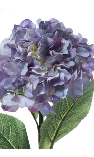 "28"" SILK HYDRANGEA SPRAY BLUE/VINE"