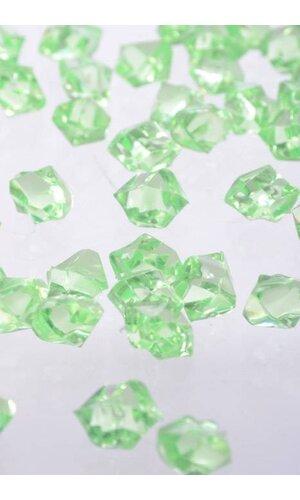 SMALL ACRYLIC CUBE LIGHT GREEN PKG/1LB