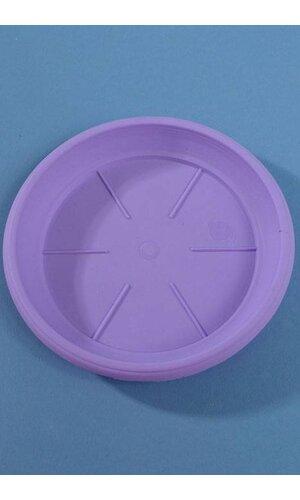 "6"" PLASTIC SAUCER LAVENDER"