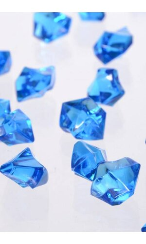 LARGE ACRYLIC CUBE ROYAL BLUE PKG/1LB