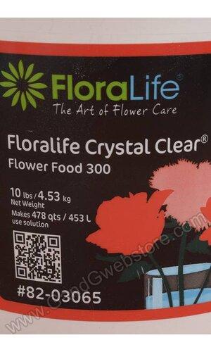 POWDERED FLOWER FOOD 10LB CRYSTAL CLEAR