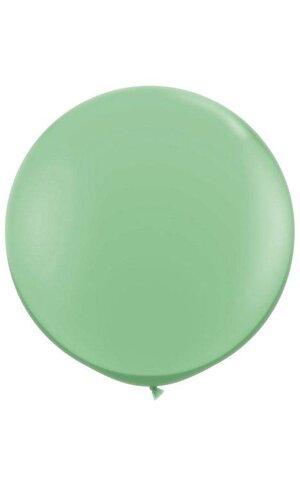 3FT STANDARD ROUND LATEX BALLOON WINTER GREEN PKG/10