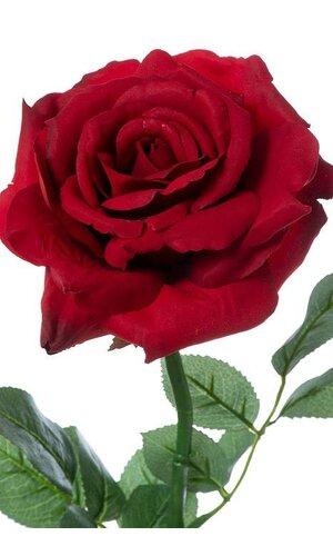 "26"" SILK DIANA ROSE SPRAY RED"