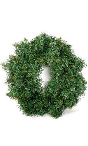 "24"" WREATH SUGAR PINE GREEN"