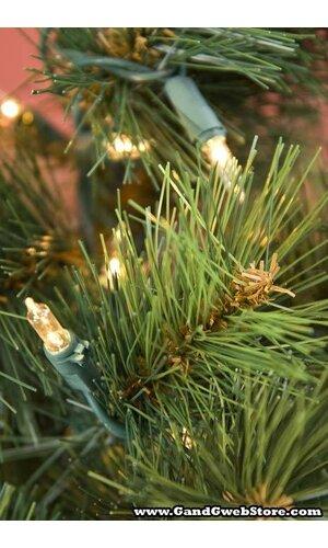 "24"" ROYAL OREGON TREE W/50 LIGHTS GREEN"