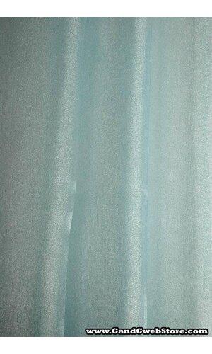"60"" X 15YDS SHIMMER ORGANZA FABRIC LIGH BLUE"
