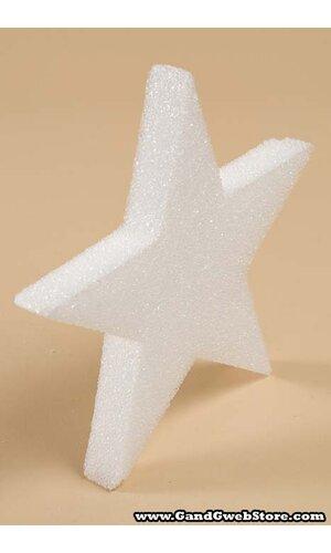 """12"""" STYROFOAM STAR WHITE"""