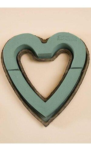 "12"" OPEN HEART OASIS PKG/2"