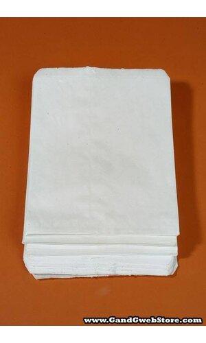 """8.5"""" X 11"""" MERCHANDISING BAG WHITE PKG/100"""
