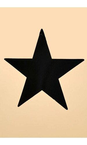 """12"""" FOIL STARS BLACK PKG/12"""