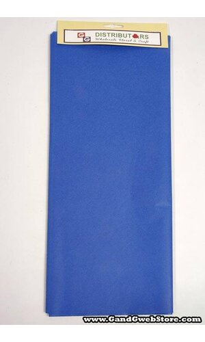 "20"" X 30"" TISSUE PAPER PARADE BLUE"