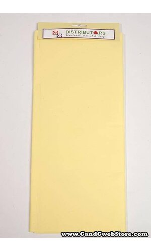 "20"" X 30"" TISSUE PAPER YELLOW"