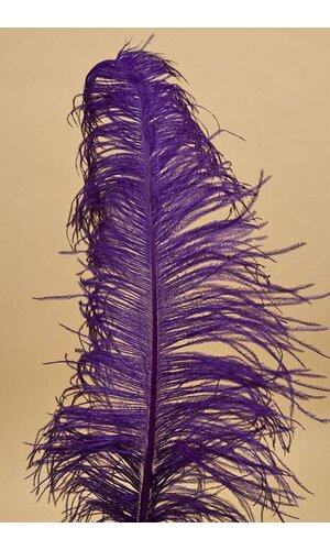 "18""-22"" OSTRICH FEATHER PURPLE PKG/12"