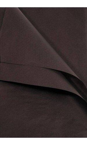 "20"" X 30"" TISSUE PAPER BLACK"