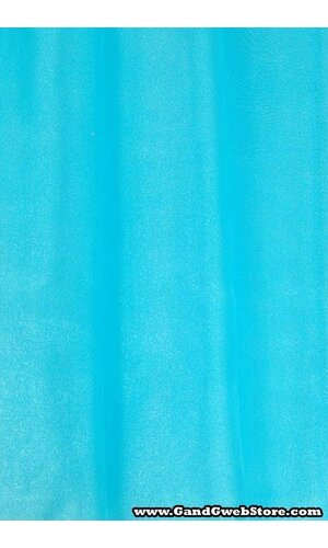 """60"""" X 15YDS SHIMMER ORGANZA FABRIC TURQUOISE"""