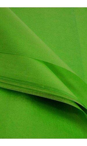 "24"" X 36"" WAXED TISSUE SHEETS CITRUS GREEN PKG/400"