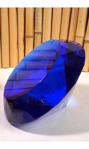 200MM CRYSTAL DIAMOND BLUE