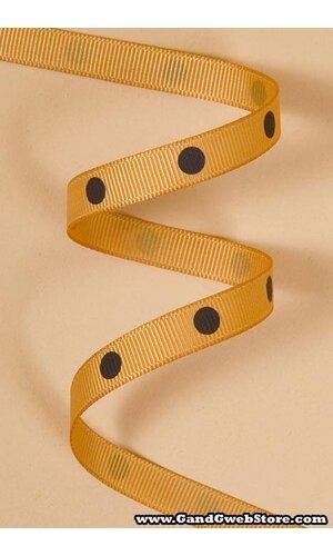 """3/8"""" X 17YDS GROSGRAIN OLD GOLD #690"""