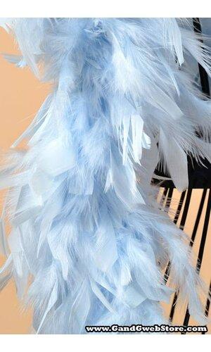 "72"" FEATHER BOAS (60gm) LIGHT BLUE"