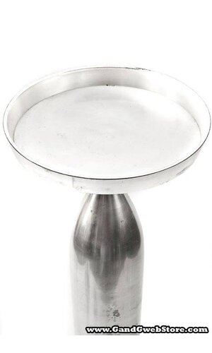 """24"""" SILVER CANDLE STICK"""