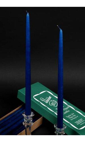 "15"" PATRICIAN TAPER COBALT BLUE BOX/12"