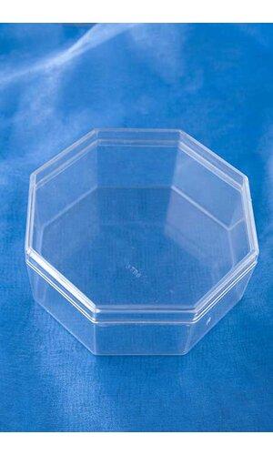 "4"" OCTAGON BOX CLEAR PKG/12"