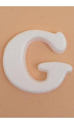 """4"""" MOLD-FOAM LETTER """"G"""" PKG/20"""