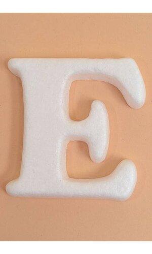 """4"""" MOLD-FOAM LETTER """"E"""" PKG/20"""